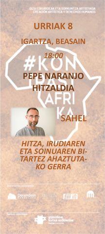Presentacion Conferencia Pepe Naranjo banner eusk