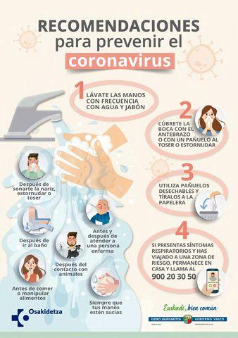 cartel prevenir coronavirus es