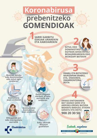 cartel prevenir coronavirus eu