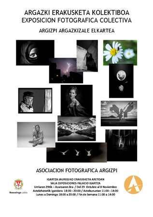 Cartel Exposicion Colectiva 2020 Blanco y Negro web txiki