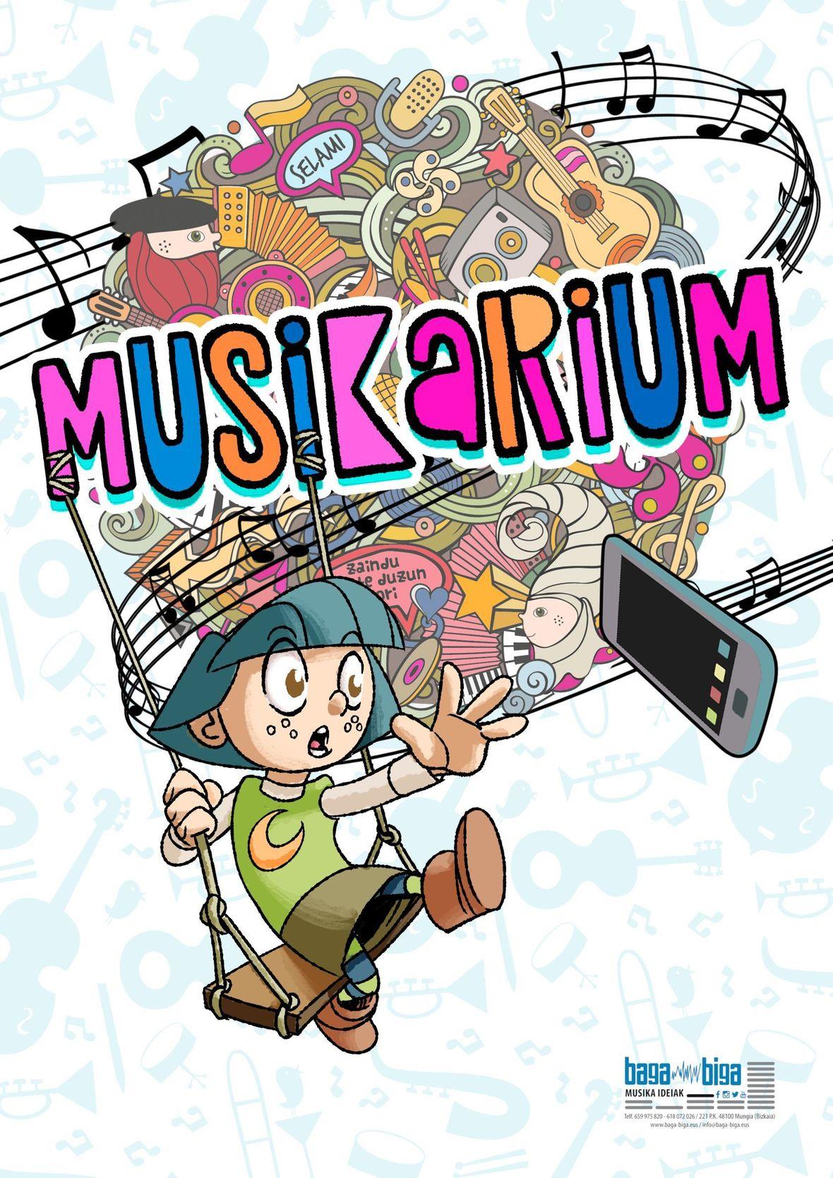 Kartela logoarekin Musikarium web