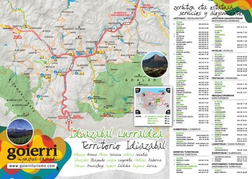 Goierriko mapa turistikoa - 2015